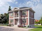Проект двухэтажного дома с цоколем